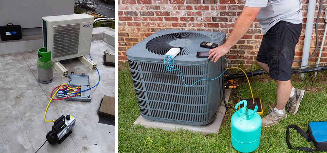 Servis a čištění klimatizací